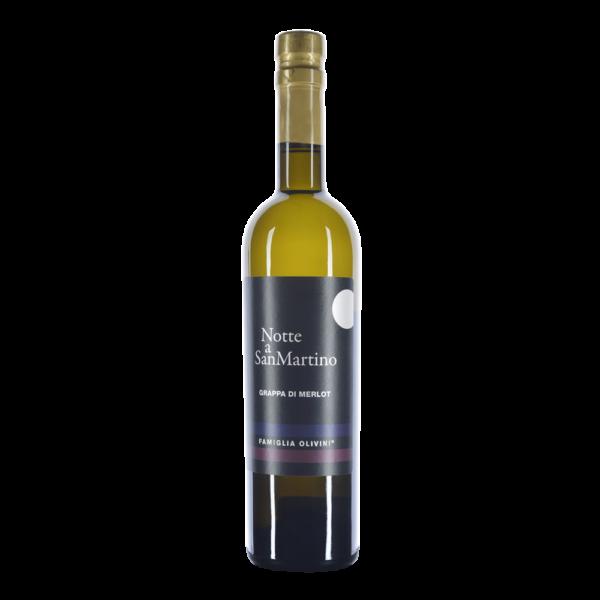 Olivini Grappa Notte A San Martino, 45%