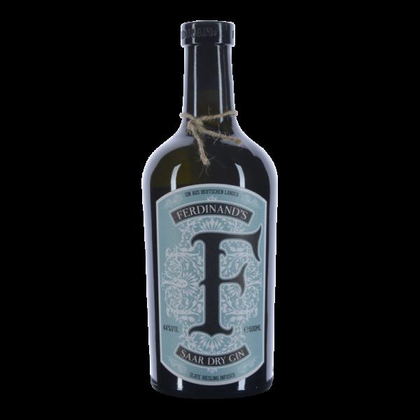 Ferdinand Saar Dry Gin 44% 0,5 liter