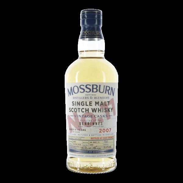 Mossburn Benrinnes 11 Years Single Malt 55,8 %