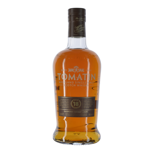 Tomatin 18 Years Oloroso Sherry Cask