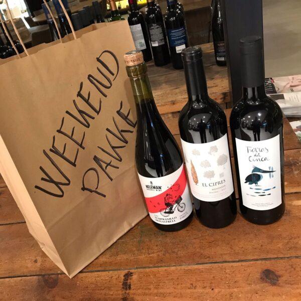 Weekendpakke - Mix Rødvin
