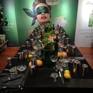 Cocktailsmagning med Diageo