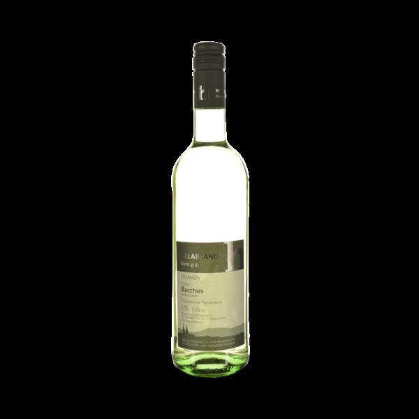 Weingut Hillabrand Bacchus halbtrocken 2018